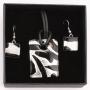 Комплект муранское стекло, Арт. 43_3х4