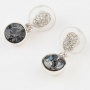 Серьги Мечта, 1 камень, арт. b55710-03