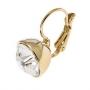 Серьги Бриллиант, подвески, золотое покрытие b59111-00