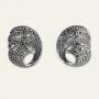 Серьги, серебро 925 проба,  арт. C082