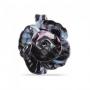Подвеска Роза средняя длина муранское стекло, арт. RS21_violet