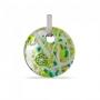 Подвеска-цветок диам. 4 см из муранского стекла, арт. 94