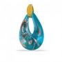 Подвеска Маленькая Венеция 8 цветов муранское стекло, арт. VC06_blue