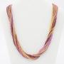 Бисерное ожерелье 24 нити, арт. 0201324_vgold