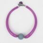 Колье из муранского стекла, арт. MM_13_violet
