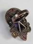 ХИТ СЕЗОНА! перстень Богиня Египта кварц, цитрин,аметист