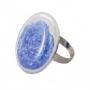 Кольцо из муранского стекла, арт. K5.11_bbl