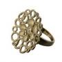 Серебряное кольцо с бриллиантами Hot diamonds, DR101