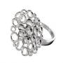 Серебряное кольцо с бриллиантами Hot diamonds, DR100
