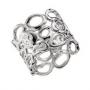 Серебряное кольцо с бриллиантами Hot diamonds, DR098