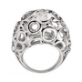 Серебряное кольцо с бриллиантом Hot diamonds, DR096