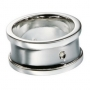 Серебряное кольцо с бриллиантом Hot diamonds. MR027