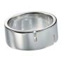 Серебряное кольцо с бриллиантами Hot diamonds. MR023