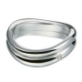 Серебряное кольцо с бриллиантом Hot diamonds. DR066