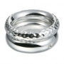 Серебряное кольцо с бриллиантом Hot diamonds. DR063