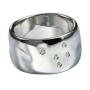 Серебряное кольцо с бриллиантами Hot diamonds. DR061