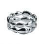 Серебряное кольцо с бриллиантом из коллекции PURE*_HDC67