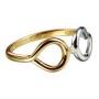 Серебряное кольцо с бриллиантом Hot diamonds, арт. GR047