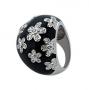Кольцо из серебра 925 пробы, Х5К1200/1800