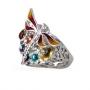Кольцо из серебра 925 пробы, ЕК-3686