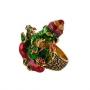 Кольцо Дар Ганеши из серебра 925 пробы, Х5К2200/3300_gn