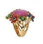Кольцо  Розовая мечта из серебра 925 пробы, Х5К3333/5000