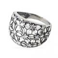 Кольцо из серебра 925 пробы, 11-012