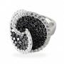Серебряное кольцо r052bz