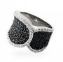 Серебряное кольцо r10511bz