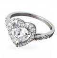 Серебряное кольцо r087cz