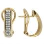 Серьги с бриллиантами, арт: E132D-040B-1