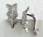 Серьги с бриллиантами, арт: DEA 02129-02