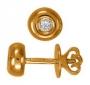 Серьги гвоздики с бриллиантами, арт: PS4366