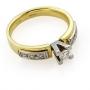 Роскошные кольца: бриллианты, белое и желтое золото