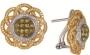 Серьги золотые с бриллиантами, арт: ERG18711