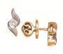 Серьги золотые с бриллиантами, арт: PS4071