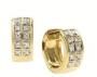 Серьги золотые с бриллиантами, арт: ERT256
