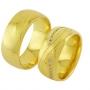 Обручальные кольца с бриллиантами из золота, арт: ТС 3233
