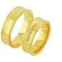 Обручальные кольца с бриллиантами из золота, арт: ТС 1739