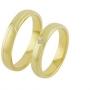Обручальные кольца с бриллиантами из золота, арт: ТС 3324