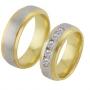 Обручальные кольца с бриллиантами, арт: ТС 1637