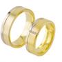 Обручальные кольца с бриллиантами из золота, арт: ТС 1588