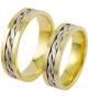 Обручальные кольца из золота, арт: ТС 1302