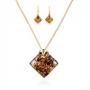 Комплект из мранского стекла, арт. 06123030_brown