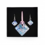 Комплект из муранского стекла, арт. 06123030_rose